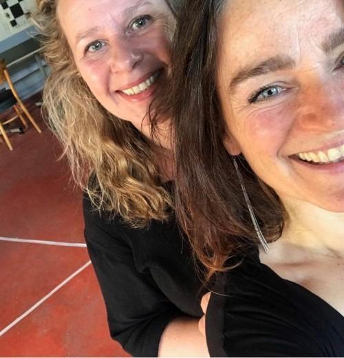 Nathalie van Loon en <br> Erica Beneker